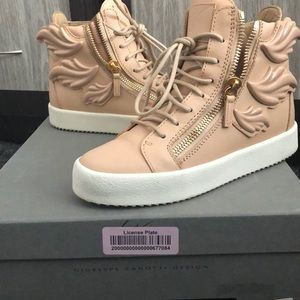 Giuseppe Zanotti Women Leather Wing Sneaker